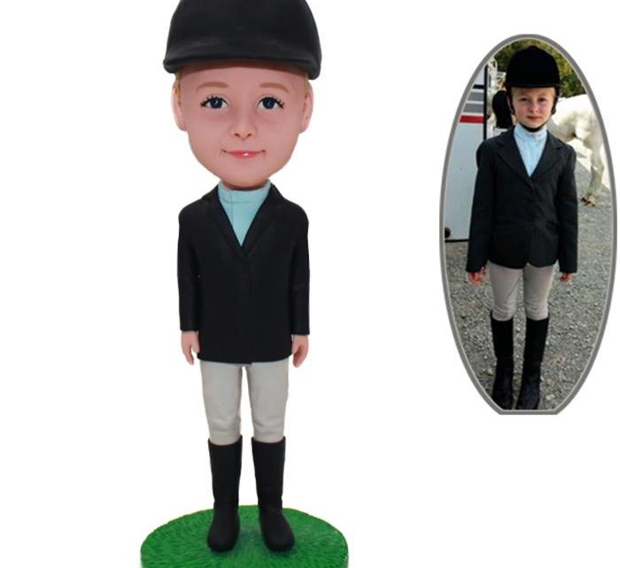 Surprise your loved ones by presenting beautiful custom bobblehead